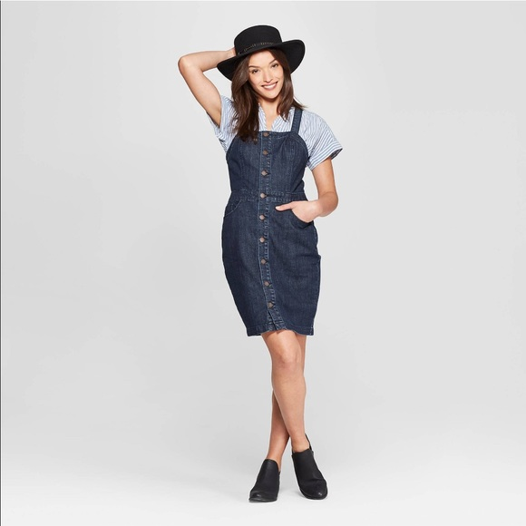 Universal Thread Dresses & Skirts - Universal Thread Sleeveless Apron Denim Dress